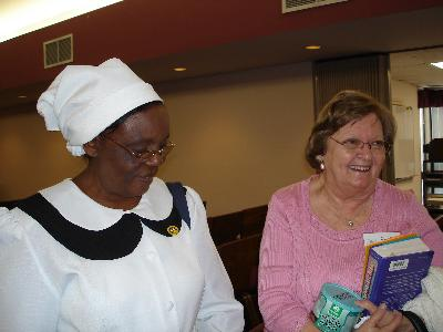 Our congregation has been blessed by visits from our friends in Malawi, Africa.